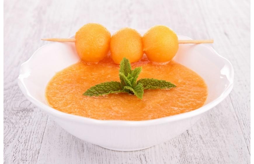 Gaspacho de melon, menthe et pastis Image