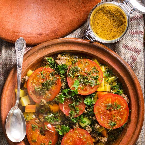 Tajine de légumes Image