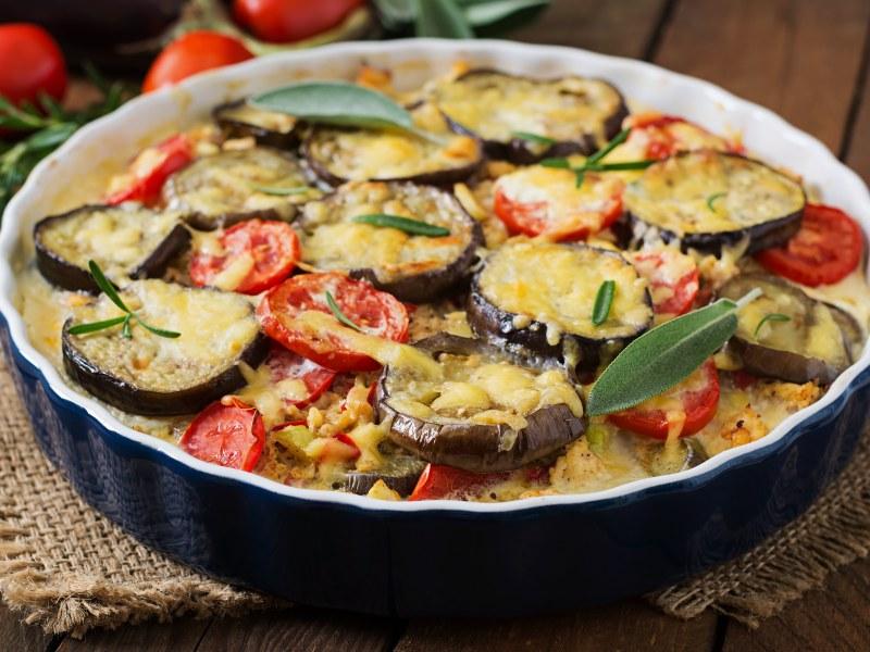 Moussaka végétarienne Image